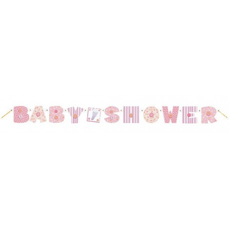 Baby Pink Jointed Banner