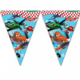 Planes Plastic Flags Banner