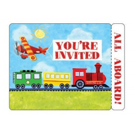 On the Go Invitations