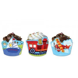 On the Go Cupcake Wrappers with Picks