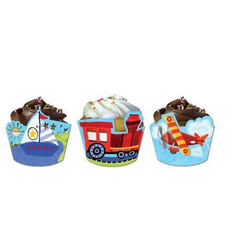 On the Go Cupcake Wrappers and Picks