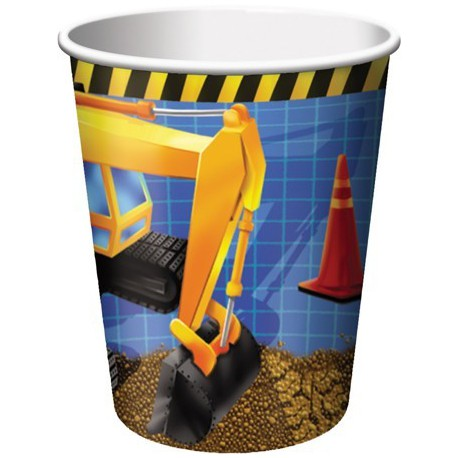 Under Construction Paper Cups