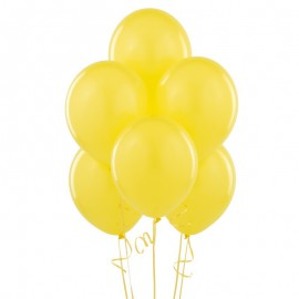 Yellow Latex Balloons 10pc