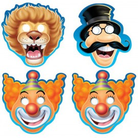 Big Top Assorted Masks