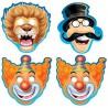 Maschere Assortite Festa Circo