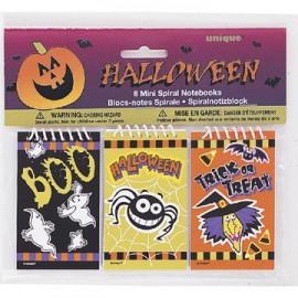 Bloc notes assortiti Halloween 6pz