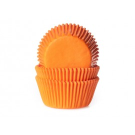 Orange Baking Cups