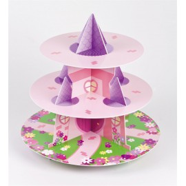 Princess Castle Cupcake Stand