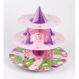 Alzata Cupcake Castello Principessa