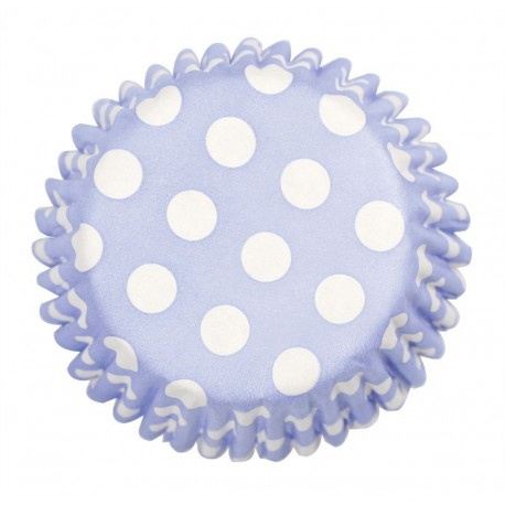 Pirottini Cupcake Rosa pois bianco
