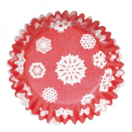 Pirottini Cupcake Fiocchi di Neve