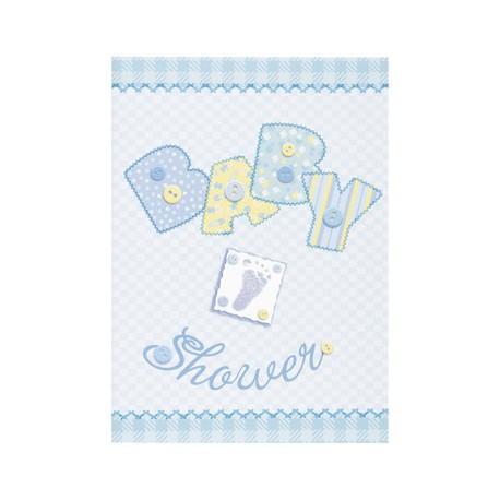 Inviti Baby Shower Baby Blue