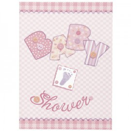 Inviti Baby Shower Baby Pink