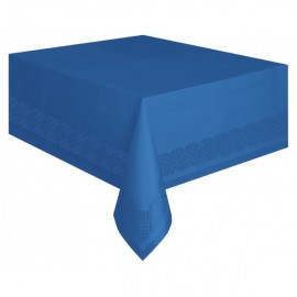 Royal Blue Paper Tablecover