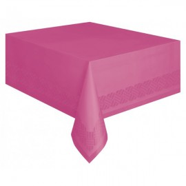 Hot Pink Paper Tablecover