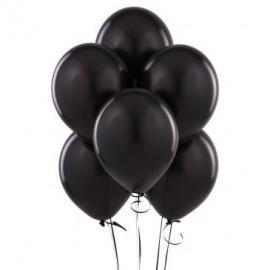Black Latex Balloons 10pc