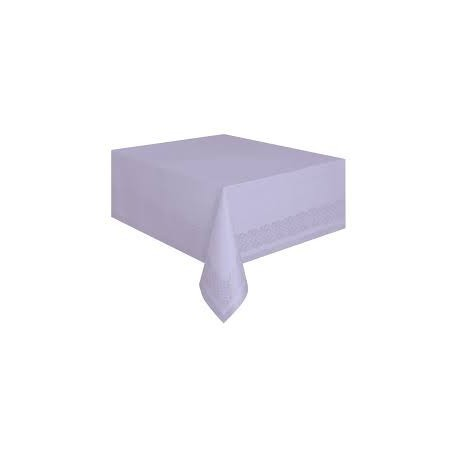 Lavender Paper Tablecover