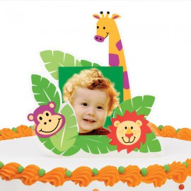 Jungle Customizable Cake Topper