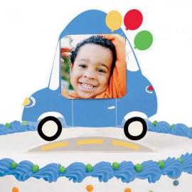 Wheels Customizable Cake Topper