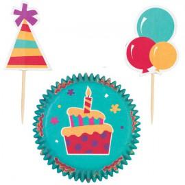 Kit Decorazione Cupcake Celebration