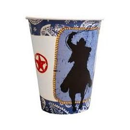Cowboy Paper Cups