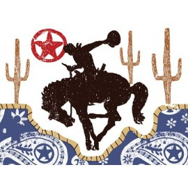 Biglietti di Invito festa Cowboy
