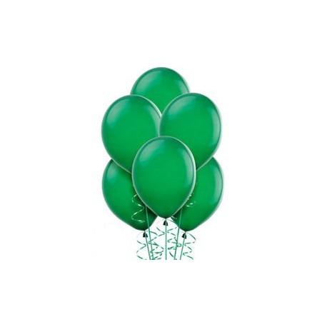 Green Latex Balloons 10pc