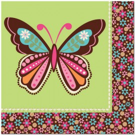 Hippie Chic Lunch Napkins