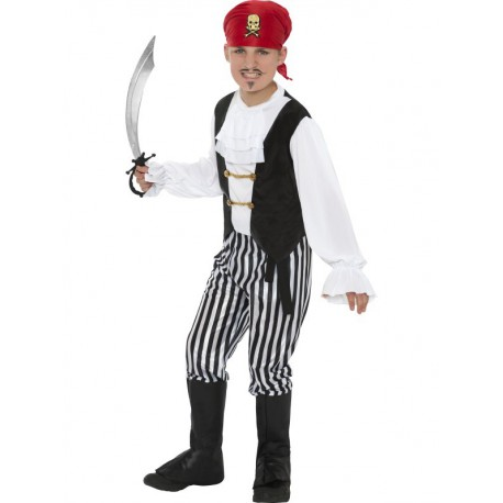 Pirate Costume 6-8 years