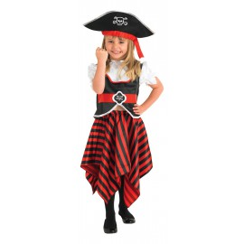 Girl Pirate Costume 3-4 years