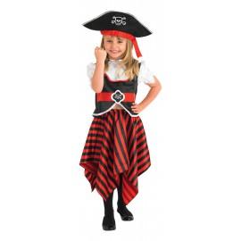 Pirata Bambina 3-4 anni