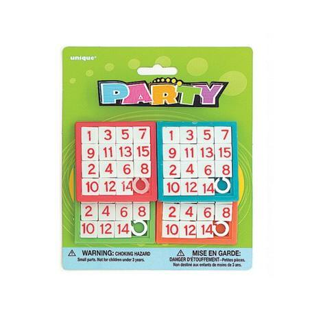 Puzzles Numeri 4pz