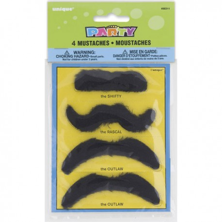 Mustaches Favor Set