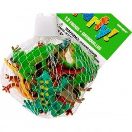 Assorted Tropical Frogs 12pc