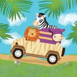 Tovaglioli Safari