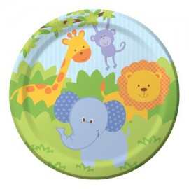 Forest Friends Party Dessert Plates