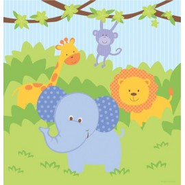 Forest Friends Party Tablecloth