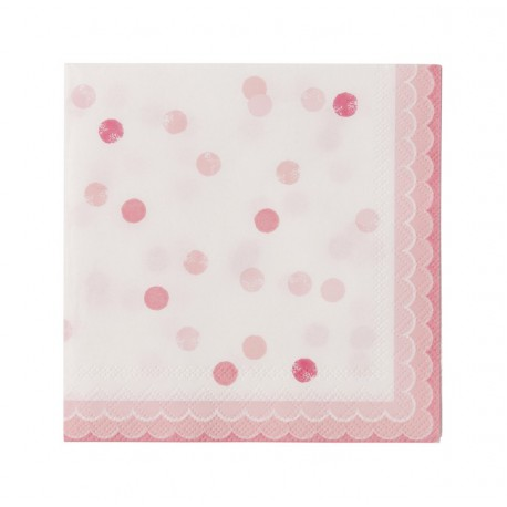 Pink n Mix Lunch Napkins