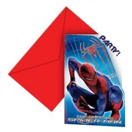 Inviti con busta Festa Spiderman