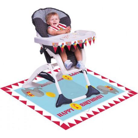 Circus Time High Chair Kit