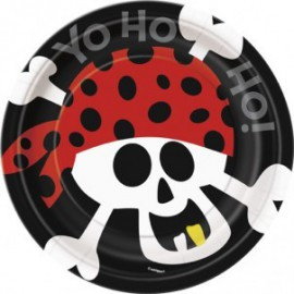 Pirate Fun Dessert Plates