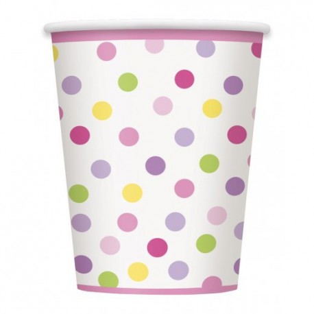 Baby Girl Stork Paper Cups
