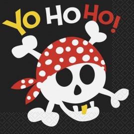 Pirate Fun Lunch Napkins
