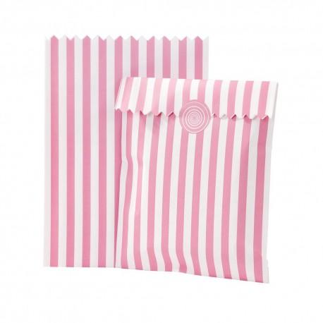 Borsine in carta con adesivi Pink n' Mix