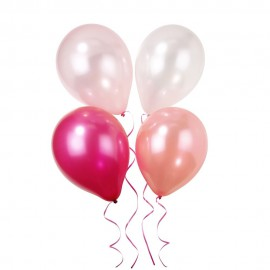 Set Palloncini Pink n' Mix