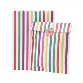 Bustine in carta con adesivi