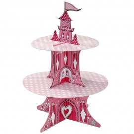 Alzata Cupcake Personalizzabile Castello Principessa