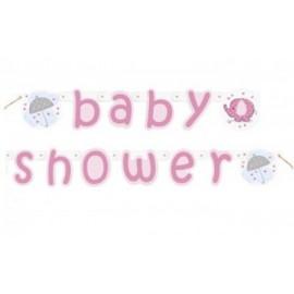 Festone Baby Shower Elefantino Azzurro