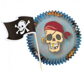 Kit Decorazione Cupcake Pirata