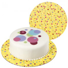 Sweet Dots Cakeboards 3pz